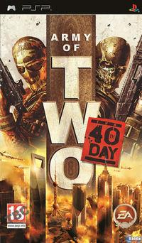 Portada oficial de Army of Two: The 40th Day para PSP