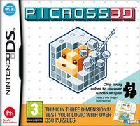 Portada oficial de Picross 3D para NDS