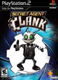 Portada oficial de Secret Agent Clank para PS2