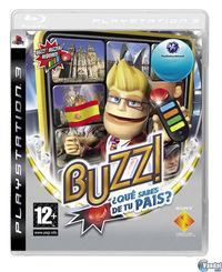 Portada oficial de Buzz: ¿Conoces tu país? para PS3