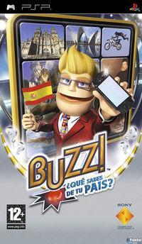 Portada oficial de Buzz: ¿Conoces tu país? para PSP