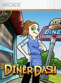 Portada oficial de Diner Dash XBLA para Xbox 360