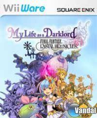 Portada oficial de Final Fantasy Crystal Chronicles: My Life as a Darklord WiiW  para Wii