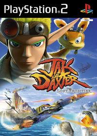 Portada oficial de Jak and Daxter: The Lost Frontier para PS2
