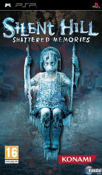 Portada oficial de Silent Hill: Shattered Memories para PSP