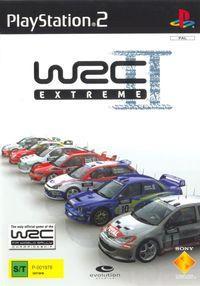 Portada oficial de WRC II Extreme para PS2