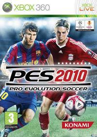 Portada oficial de Pro Evolution Soccer 2010 para Xbox 360