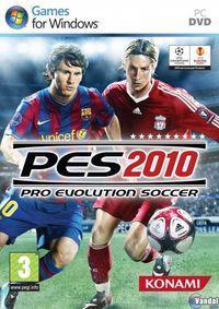 Portada oficial de Pro Evolution Soccer 2010 para PC