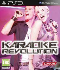 Portada oficial de Karaoke Revolution para PS3