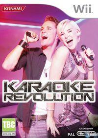 Portada oficial de Karaoke Revolution para Wii