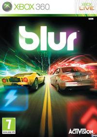 Portada oficial de Blur para Xbox 360