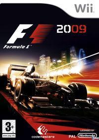 Portada oficial de F1 2009 para Wii