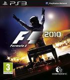 Portada oficial de F1 2010 para PS3