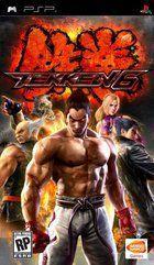 Portada oficial de Tekken 6 para PSP