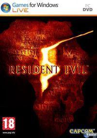Portada oficial de Resident Evil 5 para PC