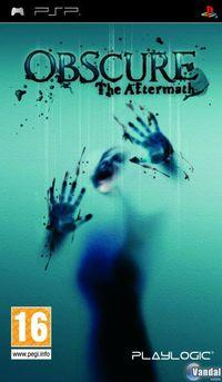Portada oficial de Obscure: The Aftermath para PSP
