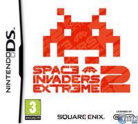 Portada oficial de Space Invaders Extreme 2 para NDS