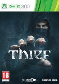 Portada oficial de Thief para Xbox 360