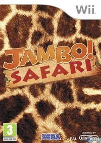 Portada oficial de Jambo! Safari para Wii