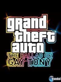 Portada oficial de Grand Theft Auto IV: The Ballad of Gay Tony para Xbox 360