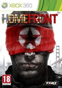 Portada oficial de Homefront para Xbox 360