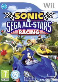 Portada oficial de Sonic and SEGA All-Stars Racing para Wii