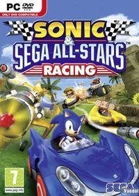 Portada oficial de Sonic and SEGA All-Stars Racing para PC