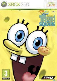 Portada oficial de SpongeBob's Truth or Square para Xbox 360