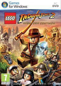 Portada oficial de LEGO Indiana Jones 2 para PC