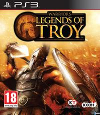Portada oficial de Warriors: Legends of Troy para PS3