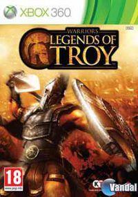 Portada oficial de Warriors: Legends of Troy para Xbox 360