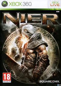 Portada oficial de Nier para Xbox 360
