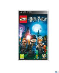 Portada oficial de LEGO Harry Potter: Years 1-4 para PSP
