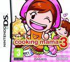 Portada oficial de Cooking Mama 3 para NDS