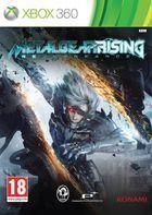 Portada oficial de Metal Gear Rising: Revengeance para Xbox 360