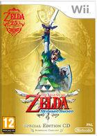 Portada oficial de The Legend of Zelda: Skyward Sword para Wii