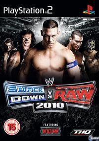 Portada oficial de WWE SmackDown vs RAW 2010 para PS2