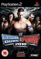 Portada oficial de WWE SmackDown vs RAW 2010 para PS2