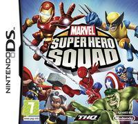Portada oficial de Marvel Super Hero Squad para NDS
