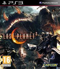 Portada oficial de Lost Planet 2 para PS3