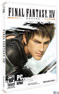 Portada oficial de Final Fantasy XIV Online para PC