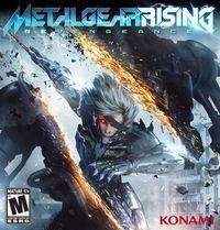 Portada oficial de Metal Gear Rising: Revengeance para PC