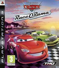 Portada oficial de Cars Race-o-Rama para PS3