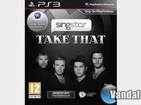 Portada oficial de SingStar: Take That para PS3