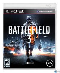 Portada oficial de Battlefield 3 para PS3