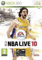 Portada oficial de NBA Live 10 para Xbox 360