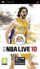 Portada oficial de NBA Live 10 para PSP