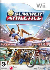 Portada oficial de Summer Athletics 2009 para Wii