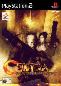 Portada oficial de Contra: Shattered Soldiers para PS2