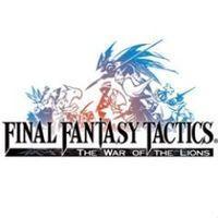 Portada oficial de Final Fantasy Tactics PSN para PS3